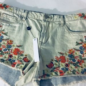 BLANKNYC Flower Power Hiker Shorts